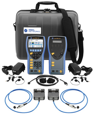 IDEAL LANTEK III 500 DIGITAL CABLE ANALYSER